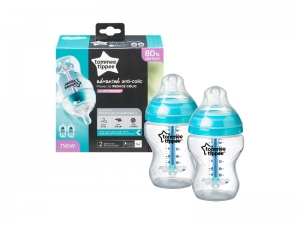 Tommee Tippee Butelka Antykolkowa 2x 260 ml Anti-Colic Advanced