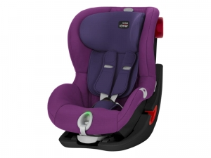 Britax Romer KING II LS kolor Mineral Purple Czarna Seria / Black Series